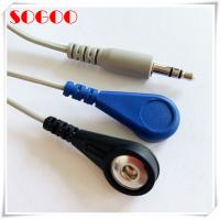 Buy cheap Ecg/ Ekg 3.5mm Audio Jack To Electrode Lead Wires Nickle Plated Contact from wholesalers