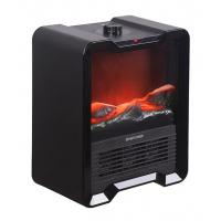 Buy cheap Mini Black Portable Electric Fireplace , TNP-2008I-E2 Small Indoor Electric Fireplace from wholesalers