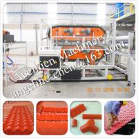 Buy cheap High capacity, automatical plastic PVC glazed roof tile roofing material production line product