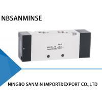 Professional High Speed Solenoid Air Valve , Pneumatic Air Control Valve