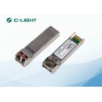 Buy cheap 10GBASE ER 10G SFP Transceiver Single Mode Fiber 1550nm 40km Duplex LC from wholesalers