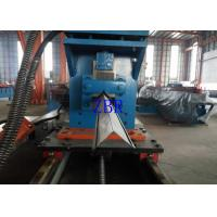 Buy cheap Aluminium Shutter Door Roll Forming Machine Gearbox Driven 10M / Min Line Speed product