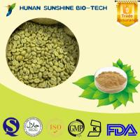 Buy cheap Anti cancer green coffee bean extract Chlorogenic acid 50% from wholesalers