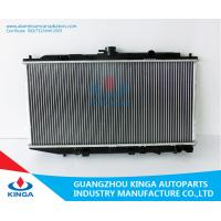 Buy cheap Cooling System Honda Aluminum Radiator CIVIC / CRX'88-91 EF2.3 MT 19010-PM4-003/ 004 product