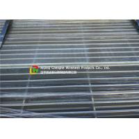 Buy cheap Walkway Hot Dipped Galvanized Steel Grating Light Structure Heat Dissipation product
