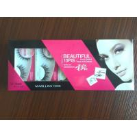 Buy cheap Top seller real siberian mink eyelashes natural style with beautiful custom packaging from wholesalers