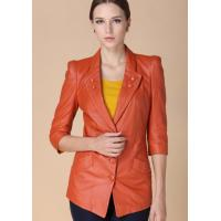 Buy cheap Sheep Leather Suit - Genuine Leather Medium Height Coat from wholesalers