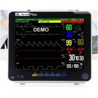 Buy cheap Multi-parameter patient monitor ,ETCO2 available ,12 inch portable patient monitor/ ICU, CCU, operating theaters,etc. from wholesalers