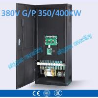 350kw/400kw VFD G/P pump  motor AC drive CNC frequency converter Low Voltage frequency inverter Vector Control Transduce