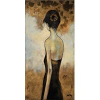 Buy cheap modern figure art oil painting on canvas from wholesalers