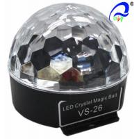 Buy cheap Sound Crystal Led Magic Ball Light , Olympic Circles Multi Colored Christmas Lights from wholesalers