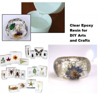 Buy cheap Crystal Clear Epoxy Resin Arts And Crafts from wholesalers