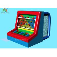 Buy cheap Red Blue Multi - Functional  Inflatable Sports Games Footballs Penalty Play Games from wholesalers