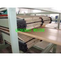 Buy cheap Chinese professional supplier WPC door panel extrusion machine from wholesalers