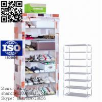 Buy cheap New design Store and Supermarket All Types of High Quality Adjustable Melamine shoe cabinet,shoe rack,shoe shelf from wholesalers