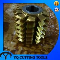 Buy cheap HSS DIN3972 M3 coanting TIN  Gear Hob cutter with TUV CE from wholesalers