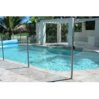 Buy cheap BS6206 Standard Pool Fencing Glass With Polished Edges No Holes from wholesalers