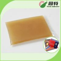 Buy cheap Amber Color Block Bookbinding Hot Melt Glue For Book-Facing , Cloth-Bound Edition from wholesalers