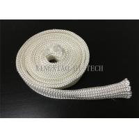 Electrical Insulation High Silica Fabric , Heat Resistant Sleeving For Cables