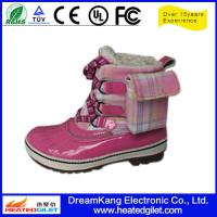 Buy cheap FIR heated shoes for outdoor application from wholesalers