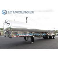 Buy cheap Horizontal Oil Tank Trailer 30000 Liters 2 Axles Fuel tanker Semi Trailer from wholesalers