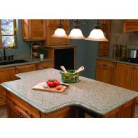 Buy cheap White Kitchen Natural Granite Countertops Worktops 45 Degree Cutting from wholesalers