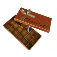 Buy cheap Custom Made Chocolate Packaging Boxes from wholesalers