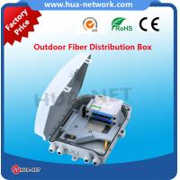 Buy cheap 1x16 PLC Splitter Optic fiber distribution box ABS+PC material fiber optic box suitable for outdoor from wholesalers