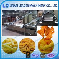 Small scale electric snacks frying food production machinery