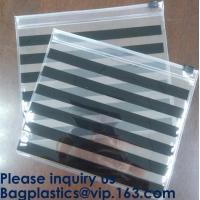 Buy cheap Frosted PVC Slider Zipper Bag Plastic Bag/ Recyclable Waterproof Transparent PVC Towel Bag,Slider Zipper Pvc Pouch Ziplo from wholesalers