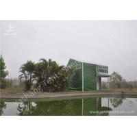 Buy cheap Green Cover UV Resistant PVC Fabric Tent Structure For Coffee Parties from wholesalers