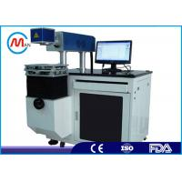 Buy cheap Digital CO2 Laser Marking Machine , High Accuracy Button Printing Machine from wholesalers