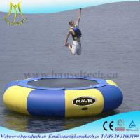 Buy cheap Hansel top sale inflatable boat outdoor amusement equipment from wholesalers