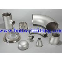 Buy cheap Lap Joint Stub End Straight Tee / Reducer ASME ANSI B16.9 ASME B16.47 ASME B16.48 MSS SP-75 from wholesalers