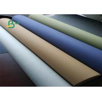 Buy cheap Low-carbon & Environment-friendly Kraft Paper Roll 0.55mm Thickness from wholesalers