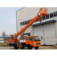 Buy cheap Telescopic Boom Truck Crane With Aerial Working Platform And Hydraulic Rotation System from wholesalers