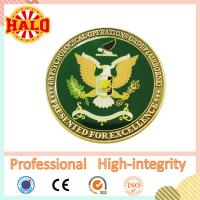 Buy cheap Inspirational cheap customized odd shape zinc alloy souvenir religious challenge gold coin from wholesalers