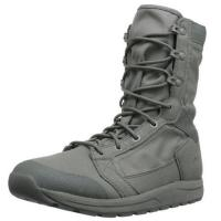 Buy cheap Mens Tachyon 8 Military Boots Soft Black Cow Leather Slip - Resistant Outsole from wholesalers