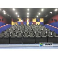 Buy cheap Exciting Simulating Luxury Cabin Box 5D Cinema System With Fiber Glass Material from wholesalers