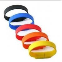 Buy cheap USB Silicon Wristband / Hi-speed USB2.0 or USB3.0 USB Silicon Wristband from wholesalers