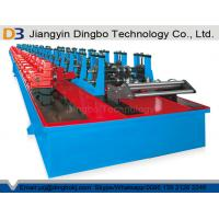 Buy cheap Automatic Shelf Rack Roll Forming Machine With Gearbox And Cr12 Roller Material from wholesalers