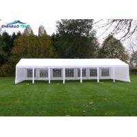 Buy cheap Garden Outdoor 10x30 White Party Ten Abs Sidewalls , Large Gazebo Tent from wholesalers
