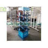 Buy cheap Metal Wire Display Racks Custom 4 Sides 4 Wheels Rotatable With SGS Approval product