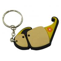 Buy cheap Custom Keychain Soft Rubber Keychain PVC Keychain 3D Silicon Key Chain PVC Rubber Keychain from wholesalers