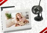 """Buy cheap 7"""" LCD Wireless Signal Baby Monitor with 1 Pcs Dual CCTV Camera/Audio /VideoTwo way speak  product"""