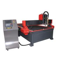 Buy cheap 1300*3000mm Table Type CNC Plasma Flame Cutting Machine with 200A Plasma Power from wholesalers