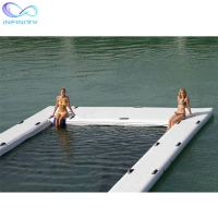 Buy cheap Ocean Sea Inflatable Yacht Swimming Pool With Netting Enclosure from wholesalers