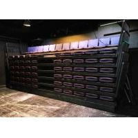 Buy cheap Padded Foldable Bleacher Seats / Sport Hall Temporary Grandstand Seating from wholesalers