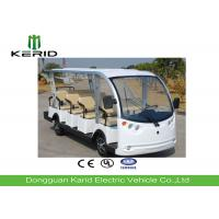 Buy cheap 11 Seater Electric Sightseeing Bus With DC Motor Powered For Campus , Villages from wholesalers