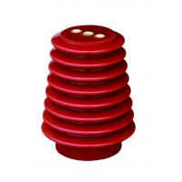 10kV Epoxy Resin Medium Voltage Insulators , Cast Resin Support Insulator 75X125mm